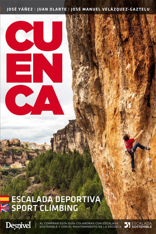 NUEVA Guía de Escalada en Cuenca. 3 Edición.