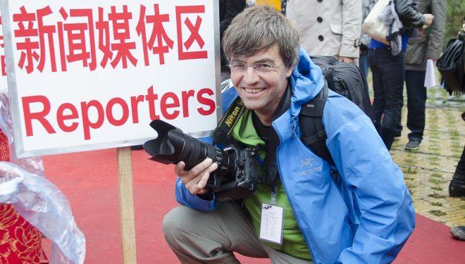 Darío Rodríguez en el Rock Trip Petzl en China.  ()