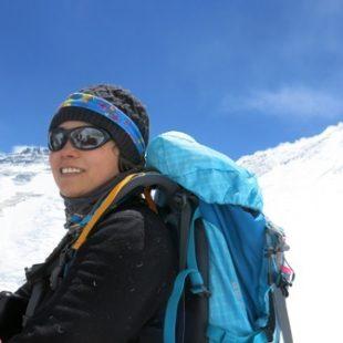 Jing Wang en el Everest 2013 (Himalayan Experience)