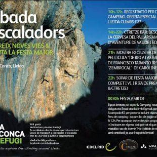 Cartel: Concentración de escaladores en Abella de la conca 2014 ()