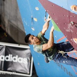 Àlex Hernández en la Copa de España de Escalada de Dificultad 2014 de Lleida  (Carlos Pérez/Top30)