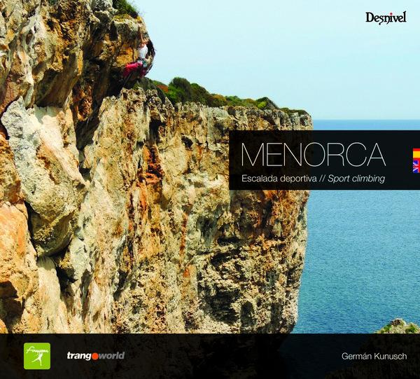 Menorca. Escalada deportiva. Sport climbing por Germán Kunusch. Ediciones Desnivel