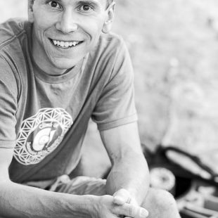 Jonathan Siegrist en el Kalymnos Climbing Festival 2012.