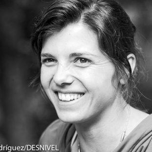 La escaladora suiza Nina Caprez (2014) (Darío Rodríguez/DESNIVEL)