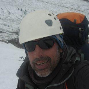 Miguel Ángel Pérez en el K2 (2014)  (Miguel Ángel Pérez)