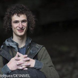 Adam Ondra en la Cueva de Baltzola (mayo 2014)  (Darío Rodríguez/DESNIVEL)