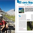 Apertura del reportaje El Oro líquido de Picos. Grandes Espacios nº 201