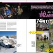 Apertura del reportaje La Travesera. Grandes Espacios nº 201
