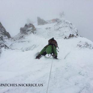 Lina Quesada ascendiendo al C3 del Broad Peak 2014  (Nick Rice)
