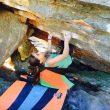 Brooke Raboutou en Fragile steps 8B de Rocklands (Suráfrica)  (Robyn Ebersfield-Raboutou)