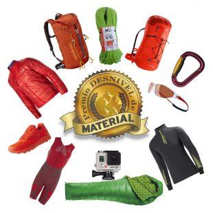 VIº Premio Desnivel de Material: 11 productos ganadores