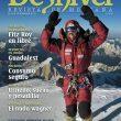 Gerlinde Kaltenbrunner en la portada Revista Desnivel 304 (Noviembre 2011. Gerlinde con su ascensión al K2 completa los 14 ochomiles y se convierte en la primera mujer que los hace sin oxígeno.  (© DESNIVEL/Gerlinde Kaltenbrunner)
