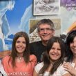Juanjo Alonso con su familia (madre