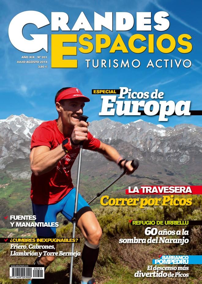 Portada de la revista Grandes Espacios nº 201. Especial Picos de Europa. [WEB]  ()