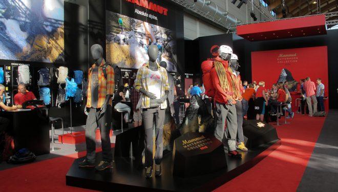 Feria Outdoor 2014. Stand de Mammut con su colección Matterhorn
