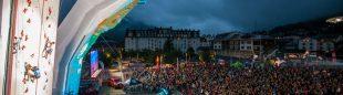 Mucho público en la prueba de Chamonix de la Copa del Mundo de Dificultad 2014  (Gaetan Hangeard)