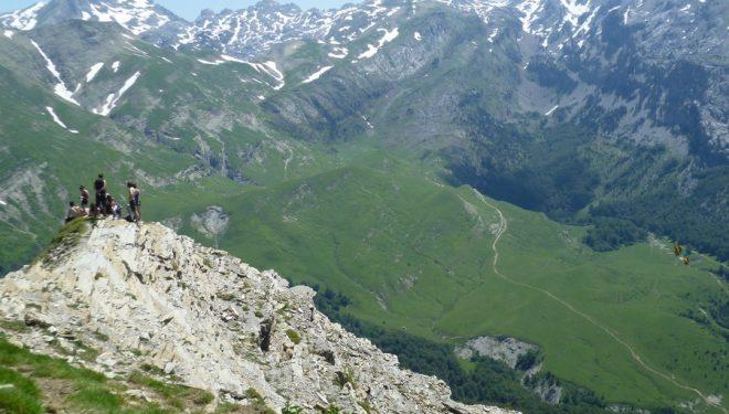 La Ruta de las Golondrinas discurre por un sector del Pirineo no demasiado elevado pero sí con unos paisajes fascinantes.  (Ruta de las Golondrinas)