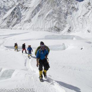 Sherpas en el Valle del Silencio