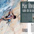 Mar Álvarez en el número 88 de las revista Escalar.  ()