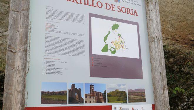 Panel del Camino del Cid en retortillo de Soria.  (Dioni Serrano)