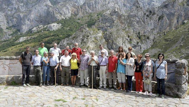 Acto de celebración del 50 aniversario del mirador del Tombo. Agosto de 2014 (Isidoro Cubillas)