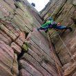 Leo Houlding escalando el Old Man of Hoy  (Berghaus)