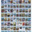 Planillo tabla de los 200 números publiados de la revista Grandes Espacios  ()