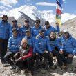 Los miembros de la expedición Carlos Soria-BBVA al Shisha Pangma 2014  (© Expedición BBVA)