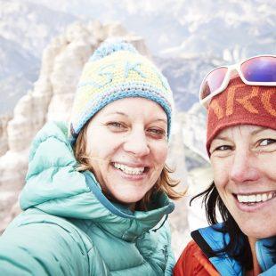 Lisi Steurer e Ines Papert en Ohne Rauch stirbst du auch (500 m