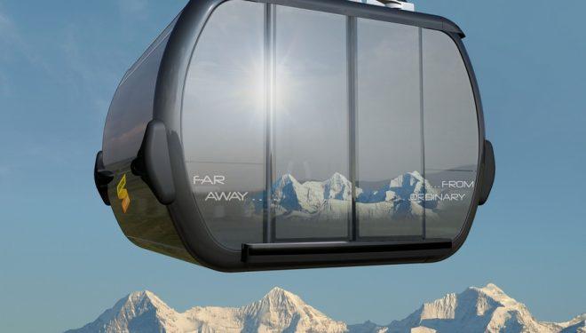 Maqueta del nuevo proyecto de telecabina Eiger-Express  (Jungfrau.ch)