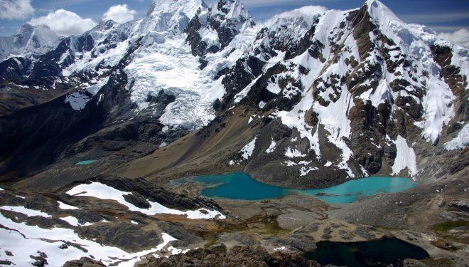 Yerupaja desde el diablo mudo a 5350m en Huayhuas