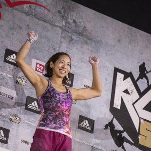 La japonesa Akiyo Noguchi ganadora del Adidas Rockstars 2014  (Elias Holzknecht/Adidas)