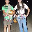 La cordada formada por Álvaro Lafuente (dcha) y Jesús Ibarz ganadores del Rally 12 horas escalada Terradets 2014.  (© Pablo Lafuente)