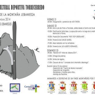 Programa 1 Jornadas de Montaña Lebaniegas (2014)  ()