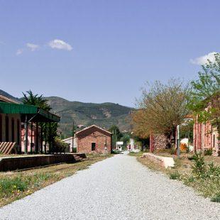 Estación de Serón en la Vía Verde del Hierro. Valle de Almanzora.  ()