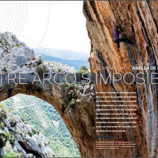 Abella de la Conca en la revista Escalar nº 94.  ()