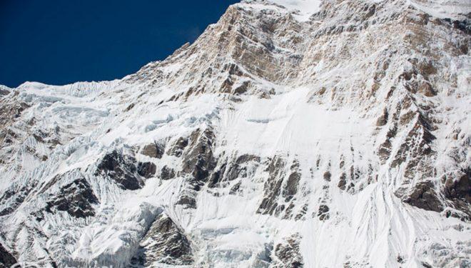 La cara sur del Annapurna  ()