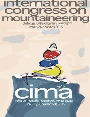 Cartel oficial del Congreso Internacional de Montaña  ()