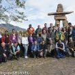 Grupo de alpinistas y periodistas participantes en el debate sobre ¿Cuánta publicidad necesita el alpinismo y cuánta puede tolerar?  (© Darío Rodríguez/DESNIVEL)