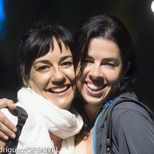 Teresa Troya y Marieta Cartro Iriarte