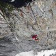 Gerri Fiegl en The music of hope al Kirstallwand (Alpes de Ötztal) (Hansjorg Auer)