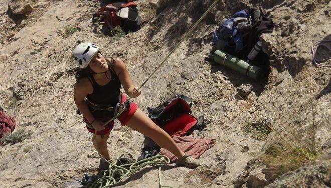 VII Encuentro Nacional de Escaladoras en Morata de Jalón
