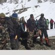 El Equipo de Rescate Alpino del Ejército de Nepal en labores de socorro en el Annapurna 2014  (Ejército de Nepal)