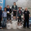 Podio del Campeonato de España Juvenil 2014 sub-16 femenino: Rut Casas (1ª)