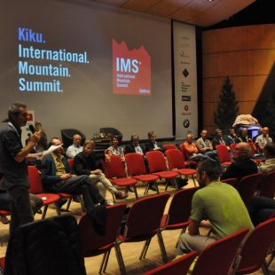 Debate final del congreso sobre doping en el alpinismo de la IMS 2014  (Isaac Fernández / Desnivel)