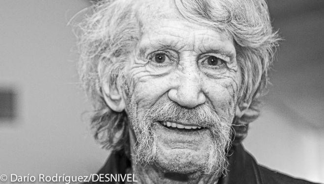 Jim Bridwell en el 32º Festival BBVA de Cinema de Muntanya de Torelló (2014)  (© Darío Rodríguez/DESNIVEL)
