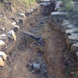 Los antiguos caminos del Baix Empordá están siendo reconstruidos a conciencia.  (Costa Daurada)