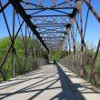 Puente de hierro sobre el río Guadarrama.  (Dioni Serrano)