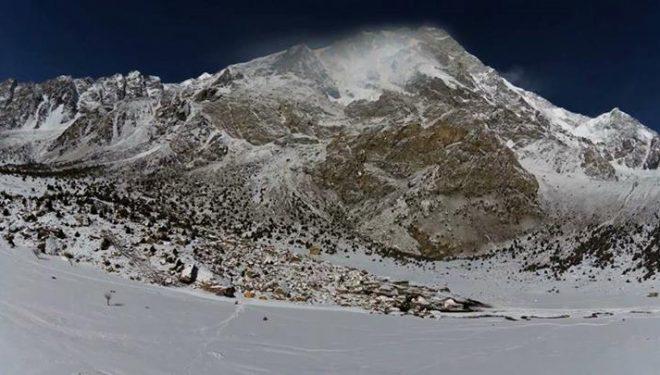 El Nanga Parbat desde el Rupal en invierno de 2014  (The North Face)