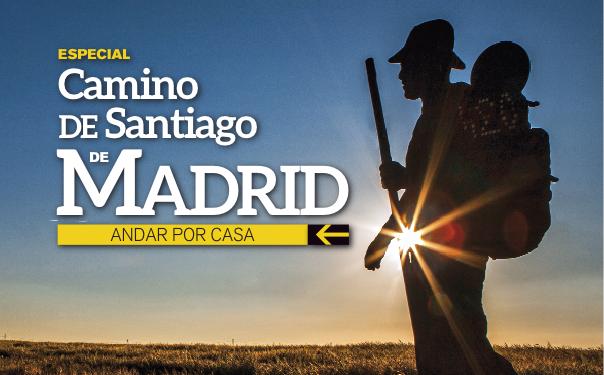 Portada de la revista Grandes Espacios nº 204. Especial Camino de Santiago de Madrid cuyo autor es Javier Prieto galardonado con el premio Luis Laforga. [WEB] ()